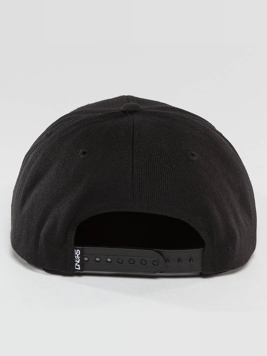 Dangerous DNGRS Snapback Caps LGNDZ Logo czarny