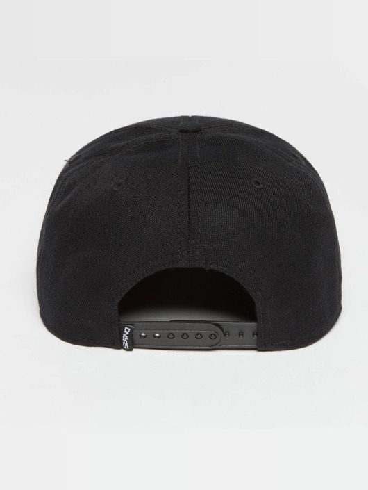 Dangerous DNGRS Snapback Caps Health czarny