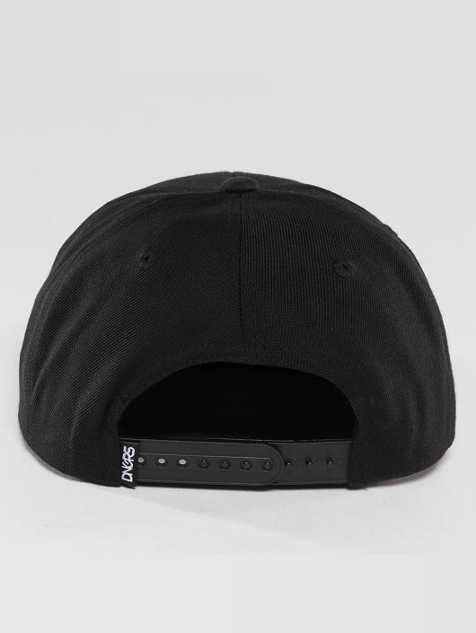 Dangerous DNGRS Snapback Caps LGNDZ Logo svart