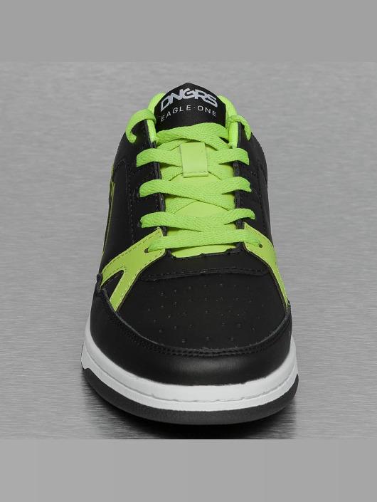 Dangerous DNGRS Sneakers Logo green