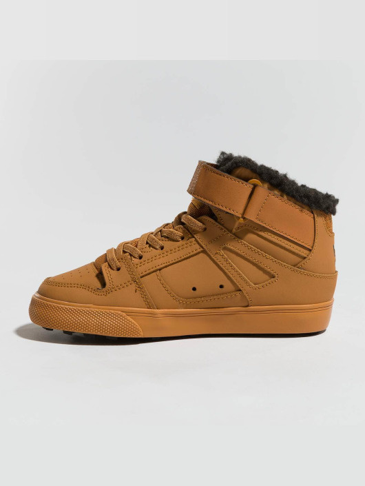 DC Baskets Pure High Top Wnt Ev brun