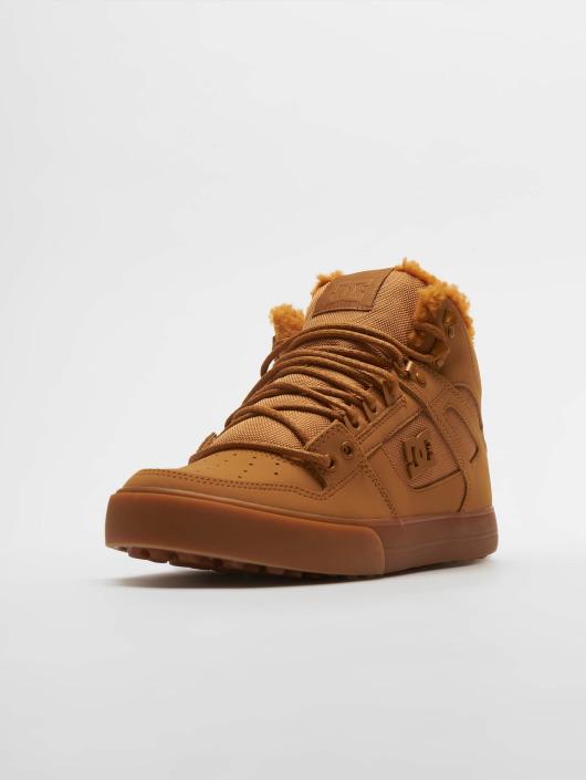 DC Baskets Pure High Top Wc Wnt brun