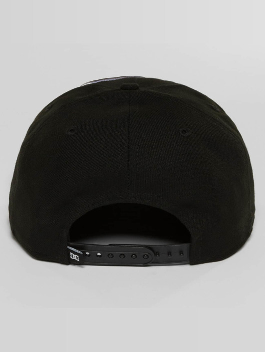 DC Snapback Cap Double Up schwarz
