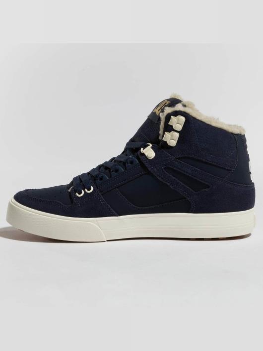 DC Sneaker Pure High Top Wc Wnt blau