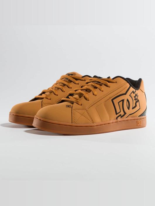 size 40 42376 5e22b DC Net Sneakers Wheat/Black/Dark/Chocolate