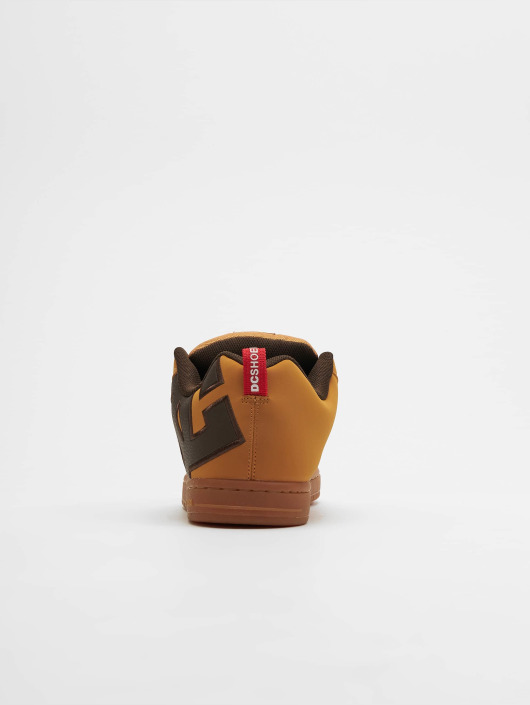 DC Sneaker Court Graffik Se braun