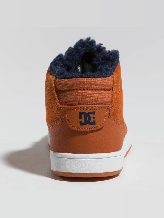 DC sneaker Crisis High Wnt bruin
