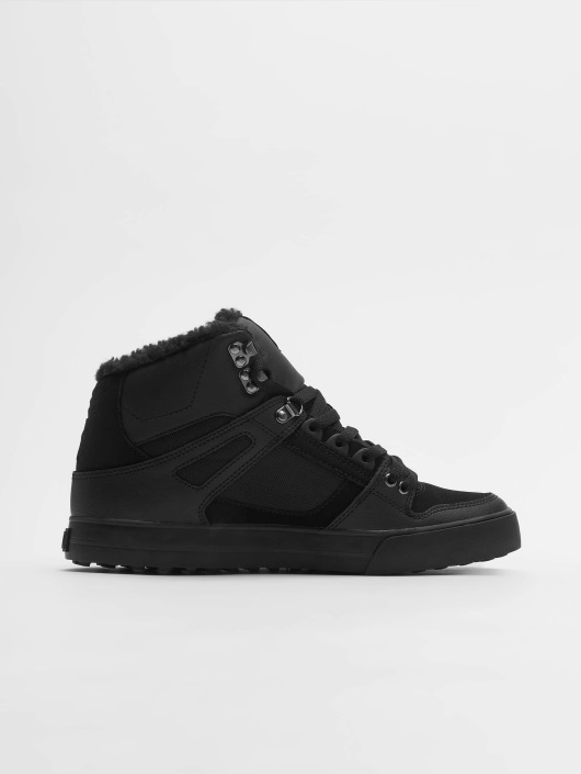 DC Sneaker Pure High Top Wc Wnt schwarz