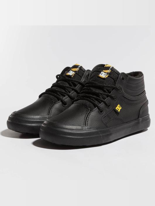 DC sneaker Evan High Wnt zwart