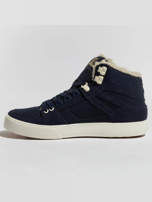 DC Tøysko Pure High Top Wc Wnt blå
