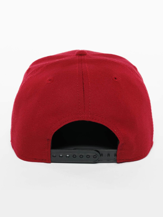 De Ferro Snapback Caps Fire red