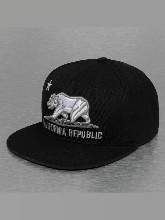 Decky USA Casquette Fitted California noir
