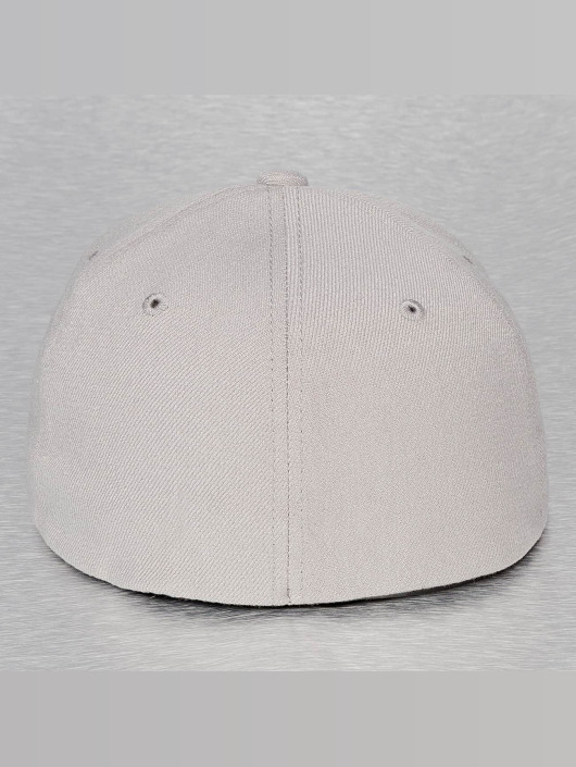 Decky USA Casquette Flex Fitted Flat Bill gris