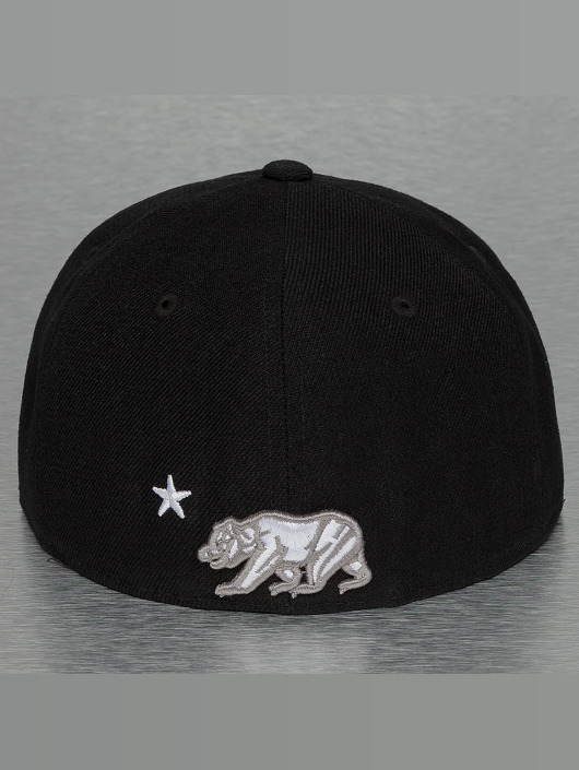 Decky USA Fitted Cap California èierna