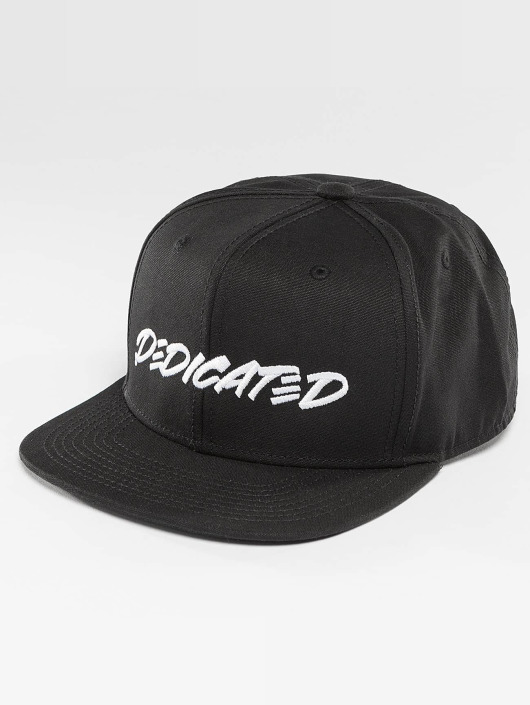 DEDICATED Snapback Marker Black èierna
