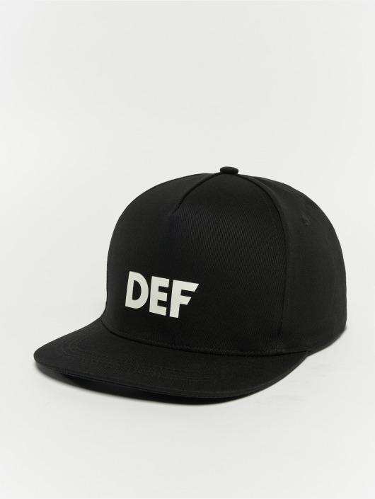 DEF Snapback Logo èierna