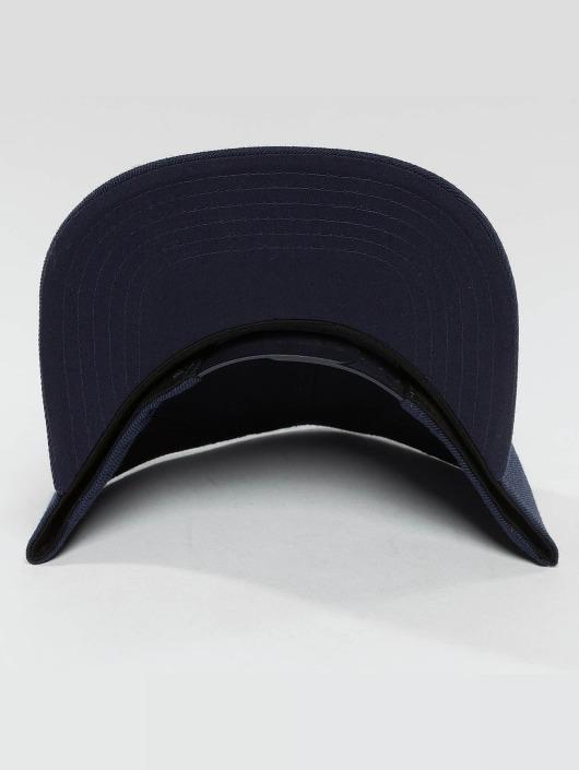 DEF Snapback Cap Basic blau