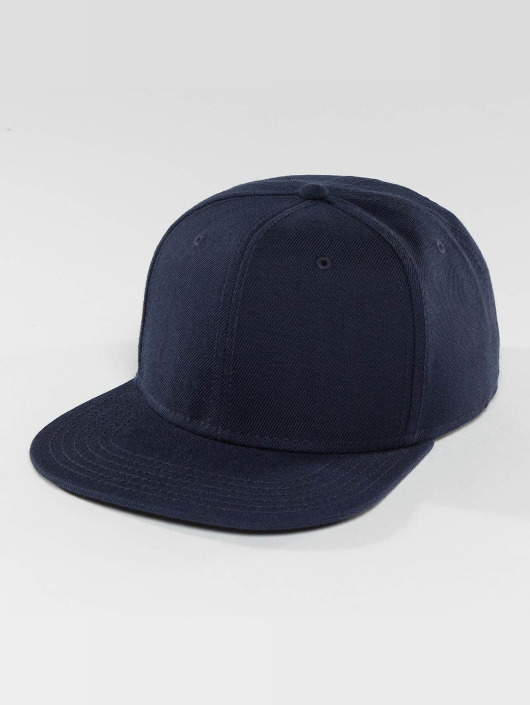 DEF Snapback Caps Basic modrý