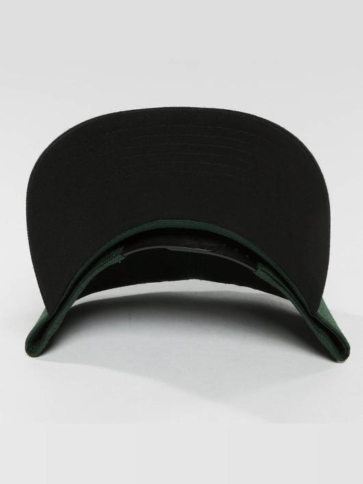 DEF Snapback Caps Basic oliwkowy