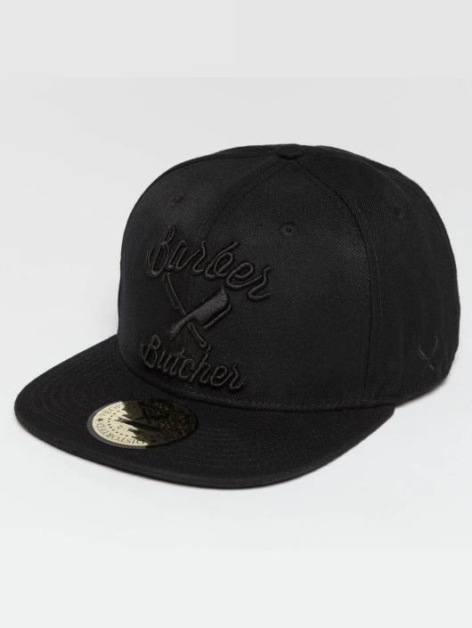 Distorted People Snapback BB Blades èierna