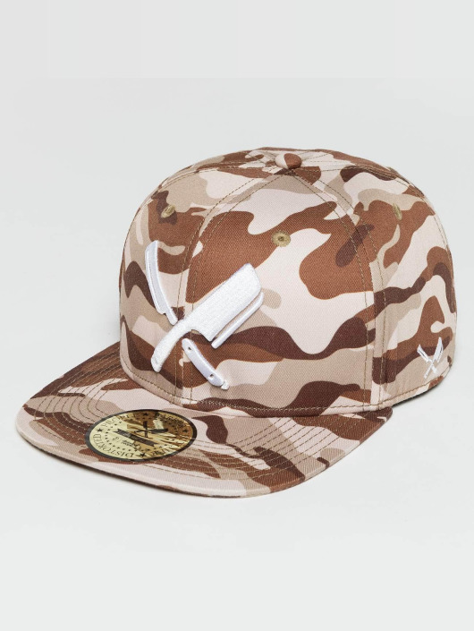 Distorted People Snapback Cap Barber & Butcher mimetico