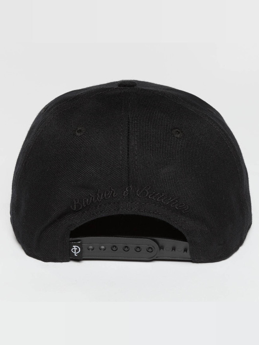 Distorted People Snapback Cap BB Blades nero