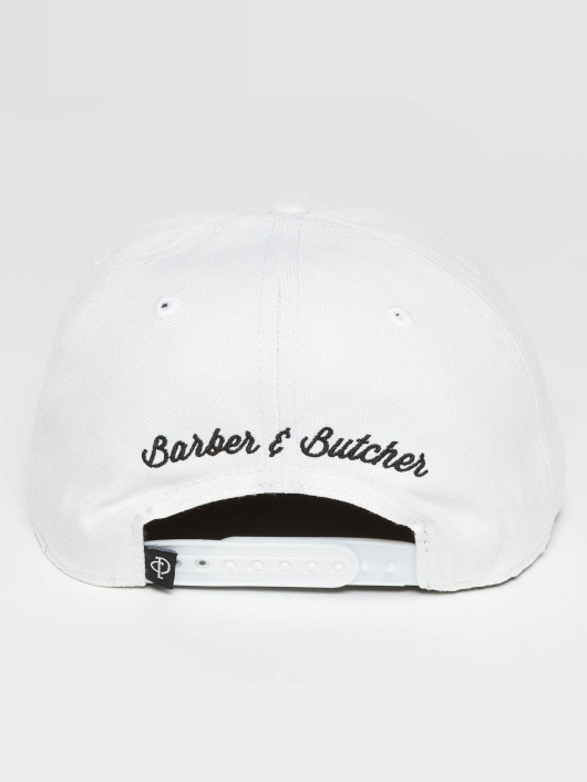 Distorted People Snapback Cap BB Blades white