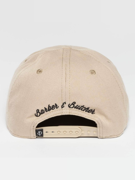 Distorted People Snapback Caps BB Blades bezowy