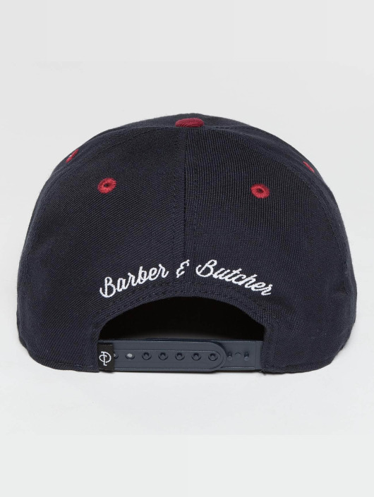 Distorted People Snapback Caps BB Blades niebieski
