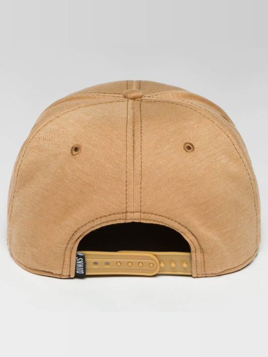 Djinns Casquette Snapback & Strapback 6 Panel Jersey Pin beige
