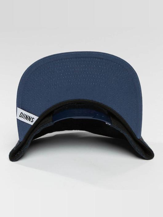 Djinns Casquette Snapback & Strapback 5 Panel Fel Rubber bleu