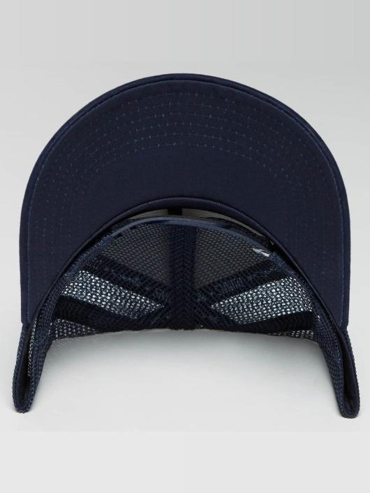Djinns Casquette Trucker mesh HFT Tie Check bleu