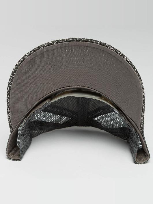 Djinns Casquette Trucker mesh HFT Woven Bast gris