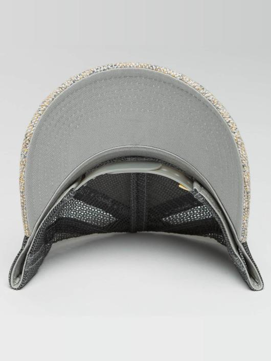 Djinns Casquette Trucker mesh Colored Linen gris