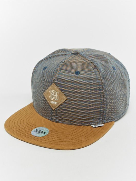 Djinns Snapback Cap 6p 2tone Oxford beige