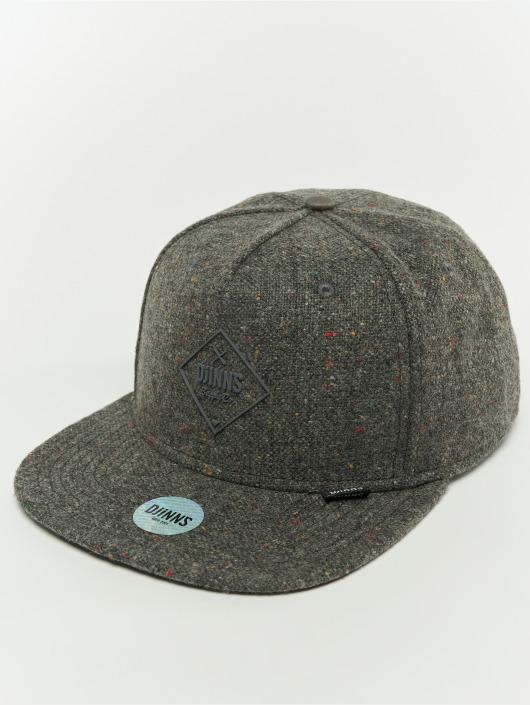 Djinns Snapback Cap 5p Spotted Edge gray