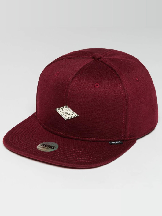 b8fbd09651be Djinns Snapback Cap 6 Panel Jersey Pin in rot 482635