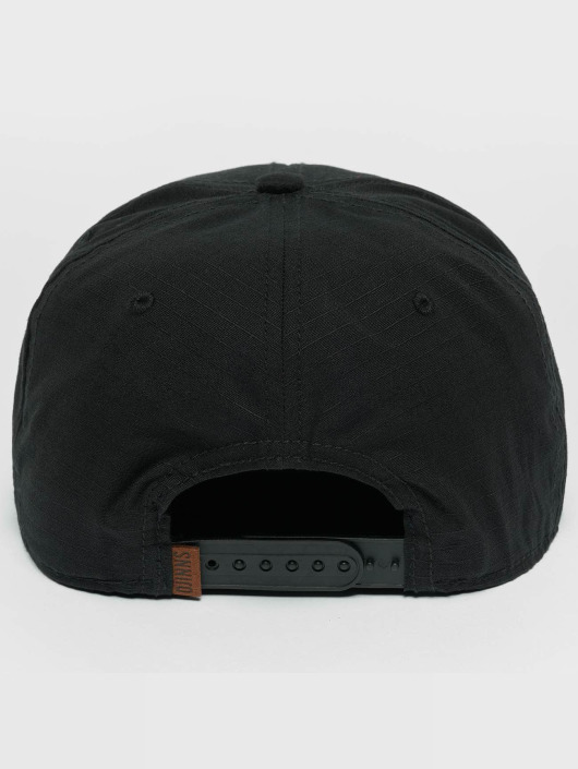 Djinns Snapback Cap M-Rib schwarz