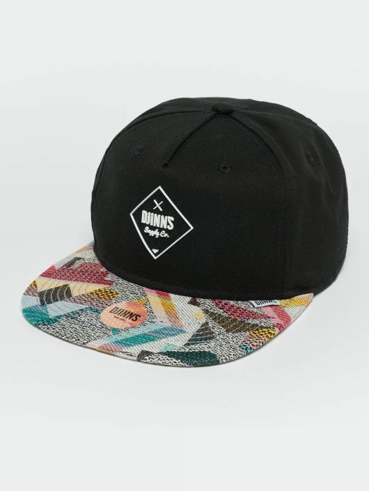 Djinns snapback cap Rubber Aztek zwart