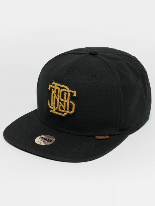 Djinns snapback cap M-Rib zwart