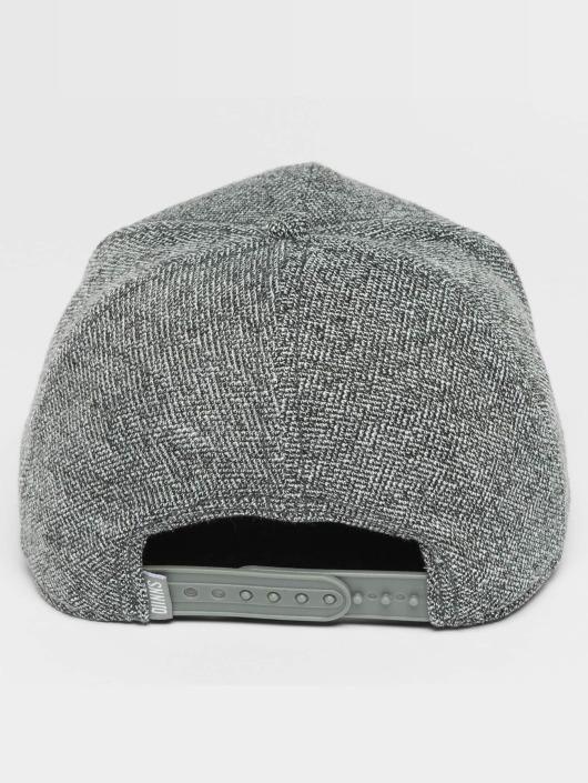 Djinns Snapback Caps HFT Full Bubble Piquee grå
