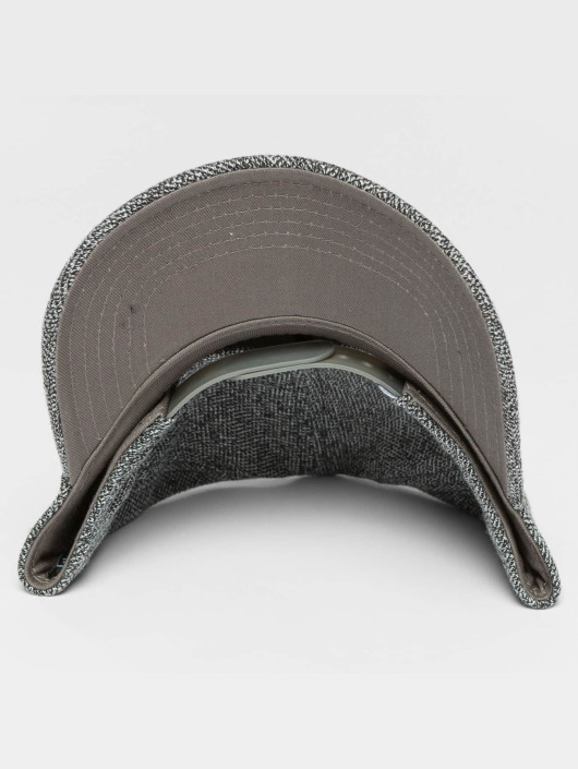 Djinns Snapback Caps HFT Full Bubble Piquee harmaa