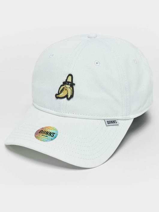 Djinns Snapback Caps Banana Dad hvid