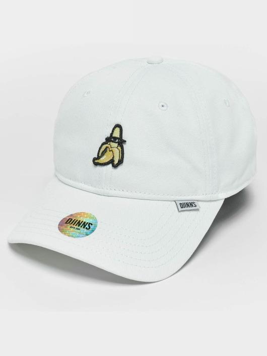 Djinns Snapback Caps Banana Dad hvit