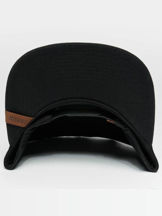 Djinns Snapback Caps M-Rib musta