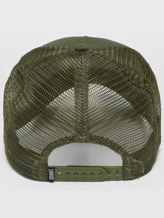Djinns Snapback Caps M-Rib Stop olivový