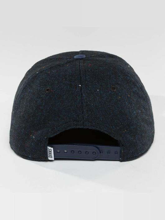 Djinns Snapback Caps 5 Panel Fel Rubber sininen