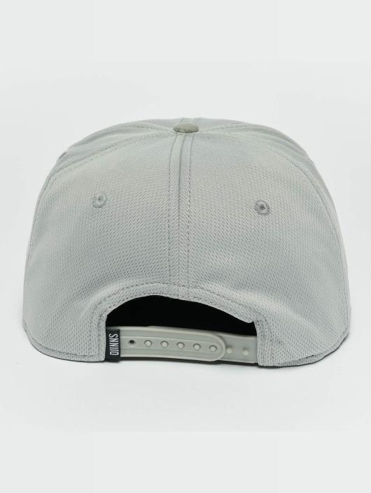 Djinns Snapback Caps Dry Knt szary