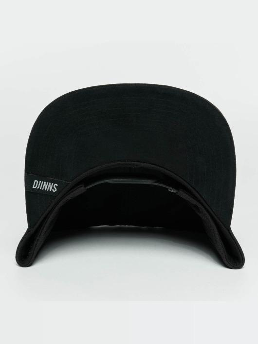 Djinns Snapbackkeps Dry Knt svart