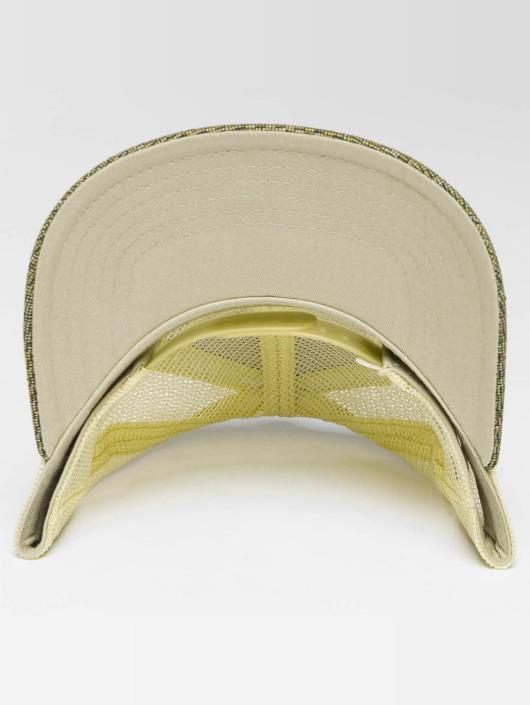 Djinns Trucker Cap HFT Woven Bast beige